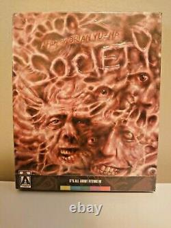Society (Blu-ray/DVD, 2015, 2-Disc Set) Arrow Limited Edition OOP SEALED New