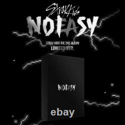 Stray Kids NOEASY 2nd Album Limited Version CD+Poster+Card+Pre-Order+Gift