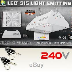 Sun System LEC 315 240v volt with 3100K Lamp Ceramic Fixture + FREE Hanging Rope