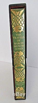 THE TRAVELS OF BARON MUNCHAUSEN, Limited Editions Club, 1929 in Slipcase