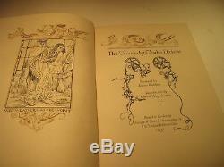 The Chimes Signed By Arthur Rackham 1931 Limited. Editions Club
