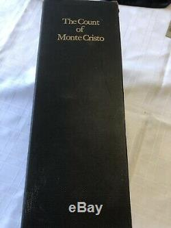 The Count of Monte Cristo 4 Volume Set Limited Editions Club. Signed