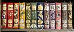 The Fairy Books Andrew Lang FOLIO SOCIETY COMPLETE 12 Vol Set