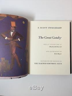 The Great Gatsby Limited Editions Club