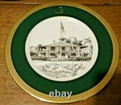 The Masters Limited Edition Plate #10 1996 by Lenox (Augusta National Golf Club)