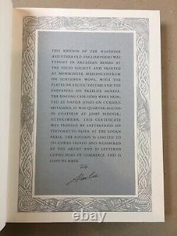 The Wanderer & Other Old-English Poems SIGNED LIMITED EDITION Folio Society 2018