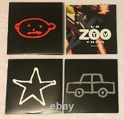 U2 Very Rare Zoo Tv Live 2cd Fan Club Exclusive Limited Edition CD Live 1993 Oop