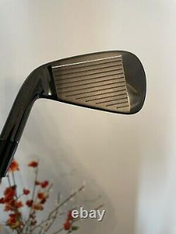 Used TaylorMade 2021 Limited Edition P790 black Iron Set 4-PW