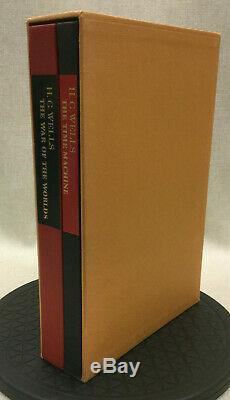 War of the Worlds Time Machine H G Wells Limited Editions Club 1058/1500 Signed
