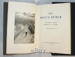 White Spider Heinrich Harrer Limited Editions Club Signed Eiger Mountaineering